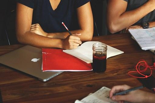 会社のミーティング風景